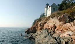 Lighthouse at Acadia National Park - Bar Harbor, Maine, USA