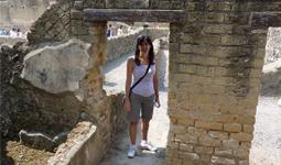 Tracy Duffin Herculaneum Campania Italy