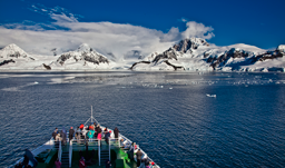 Explore the Arctic Spitsbergen Magdalena Fjord Mountain Glacier Zodiac with G Adventures