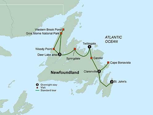 Collette Tours Newfoundland
